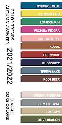 Color Trend Report Fall/Winter 2021-2022 image